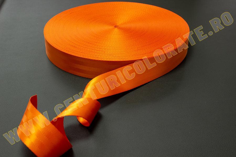 Centura siguranta portocalie Mini Clubman