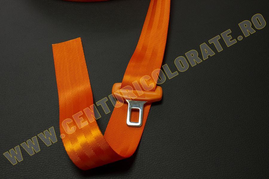Centura siguranta portocalie Seat Exeo