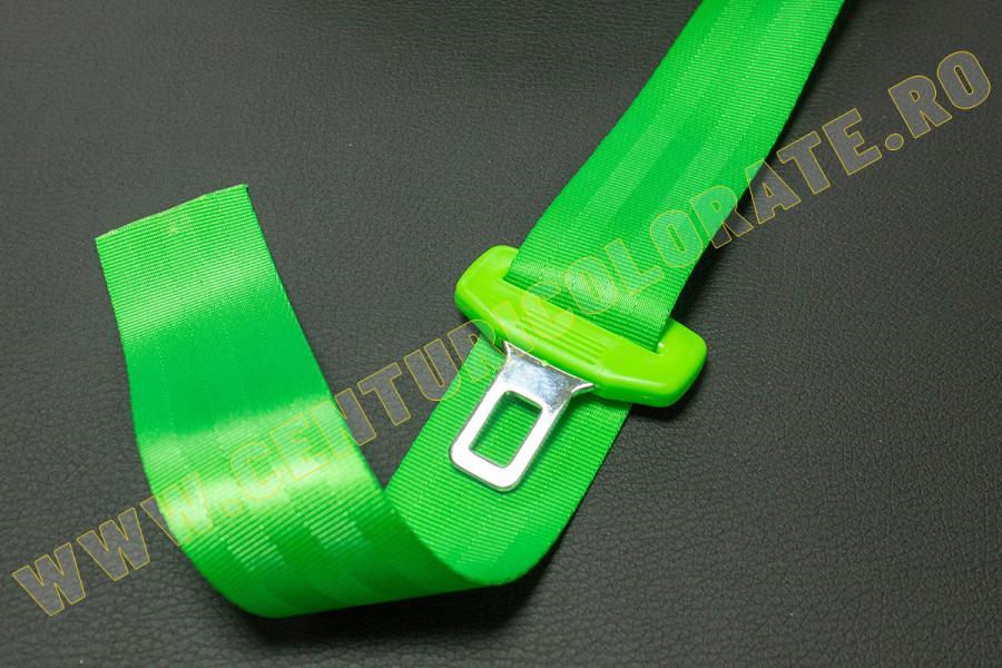 Centura siguranta verde deschis Seat Exeo