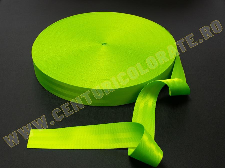 Centura siguranta verde neon Toyota Highlander